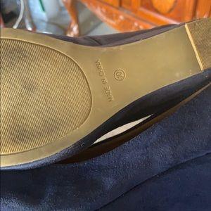 Blue fade shoes